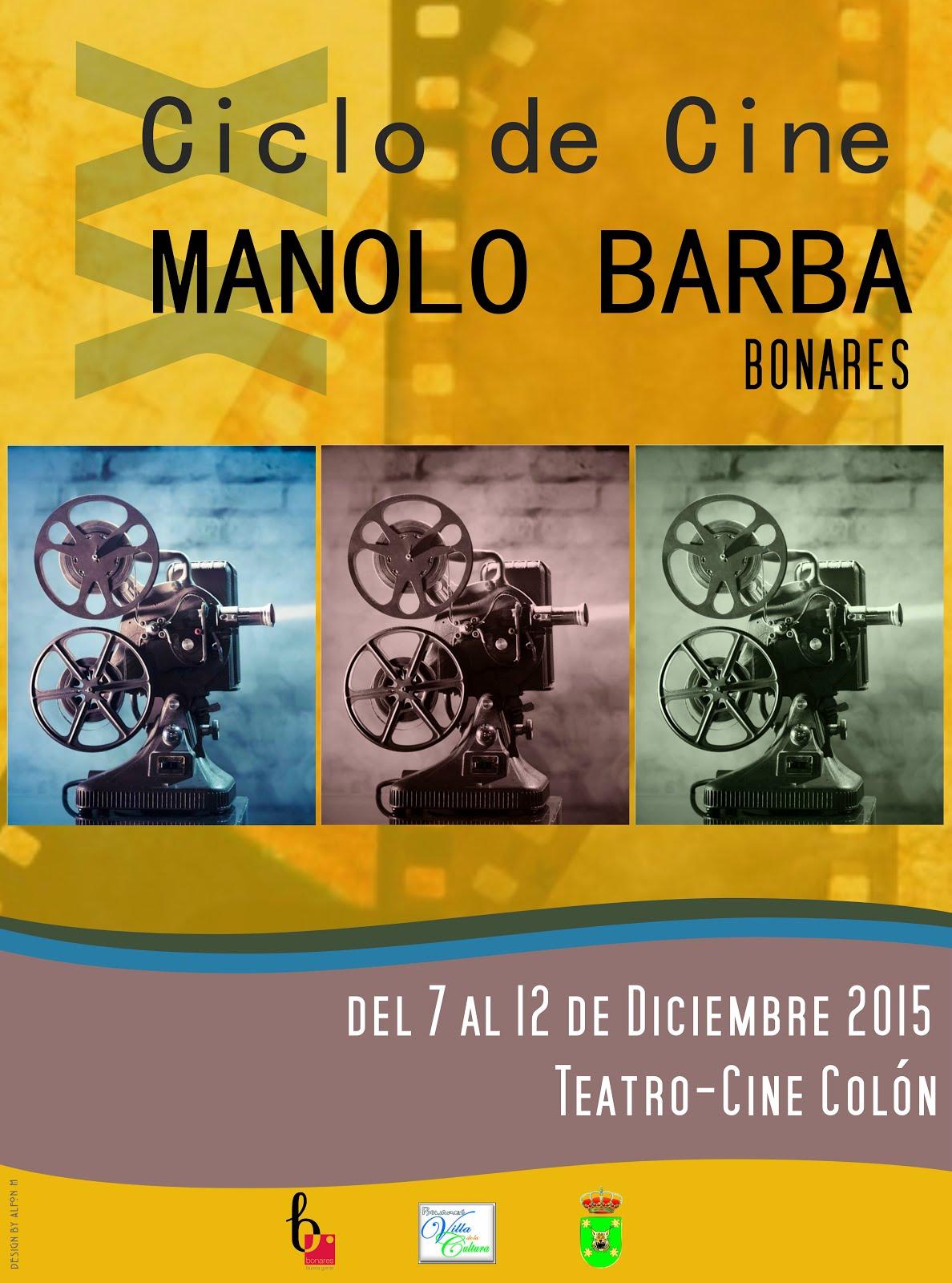 XX CICLO DE CINE MANOLO BARBA