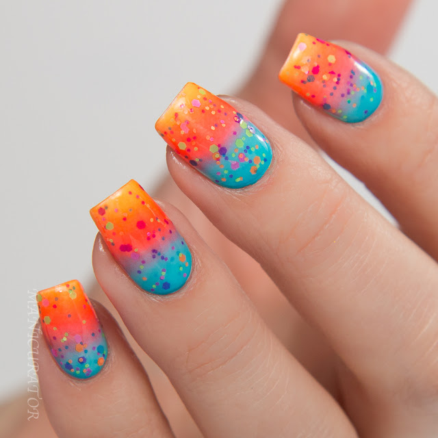 China-Glaze-Electric-Nights-Swatch-Gradient-Nail-Art