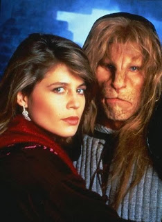 Beauty and the Beast, (1987), Ron Perlman and Linda Hamilton