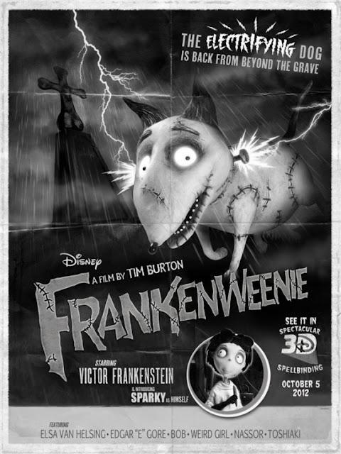 Frankenweenie poster