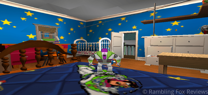 Toy Story 2: Buzz Lightyear to the Rescue andy's bedroom