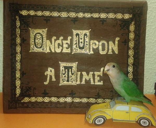 Robin, my lovebird