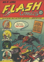 Flash Comics #4 - 4th appearance Hawkman