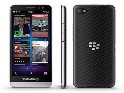 Spesifikasi dan Harga Blackberry Z30 Terbaru