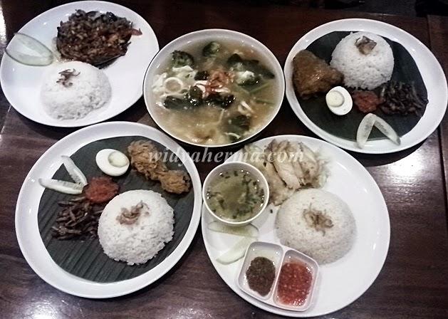 Makanan di Mamak Kitchen Bandung