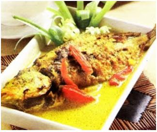 Resep Ikan Bandeng Bumbu Kuning