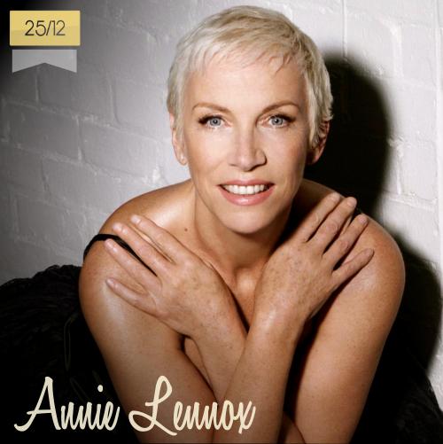 25 de diciembre | Annie Lennox - @AnnieLennox | Info + vídeos