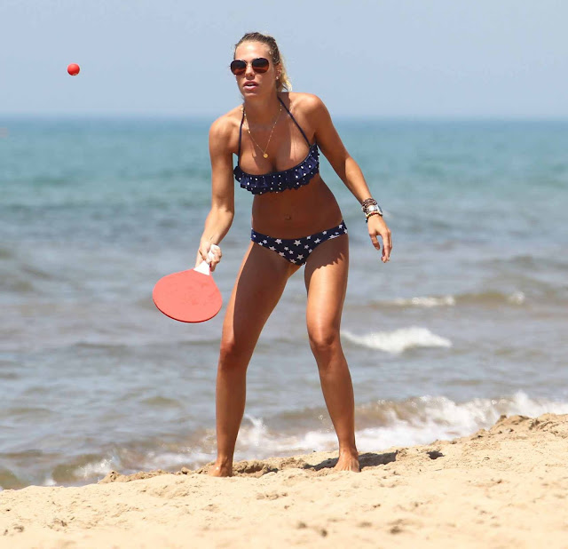 Ilary Blasi – Bikini Candids in Sabaudia