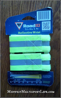 RoadID Reflective Wrist Bands