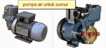 harga mesin pompa air sumur