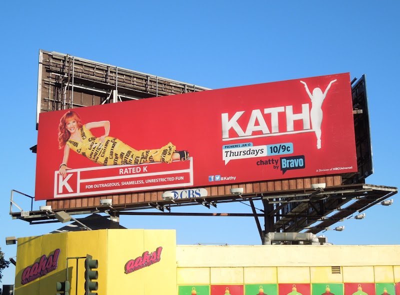 Kathy Griffin talk show season 2 billboard