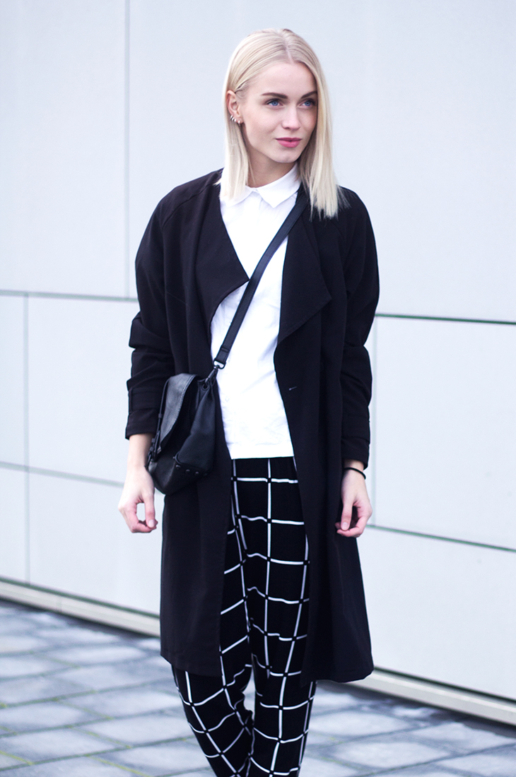 Fashion Attacks outfit ootd monochrome style