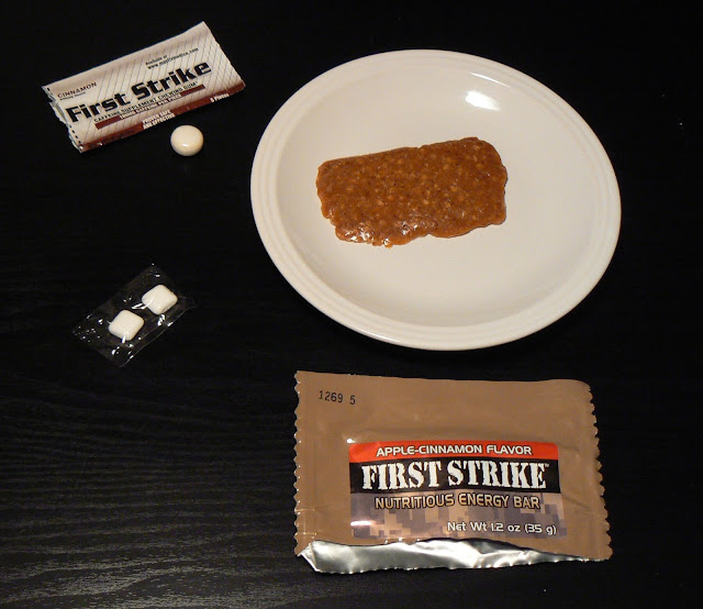 First Strike Ration Menu 2: First Strike Bar and gum