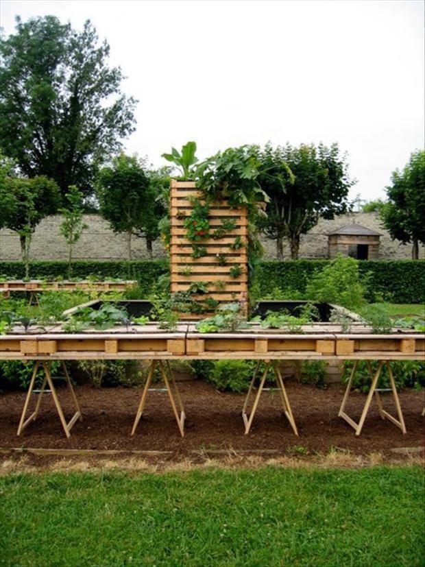 Mil ideas para la casa y el jardin ideas para el huerto for Casa y jardin bazaar 2013