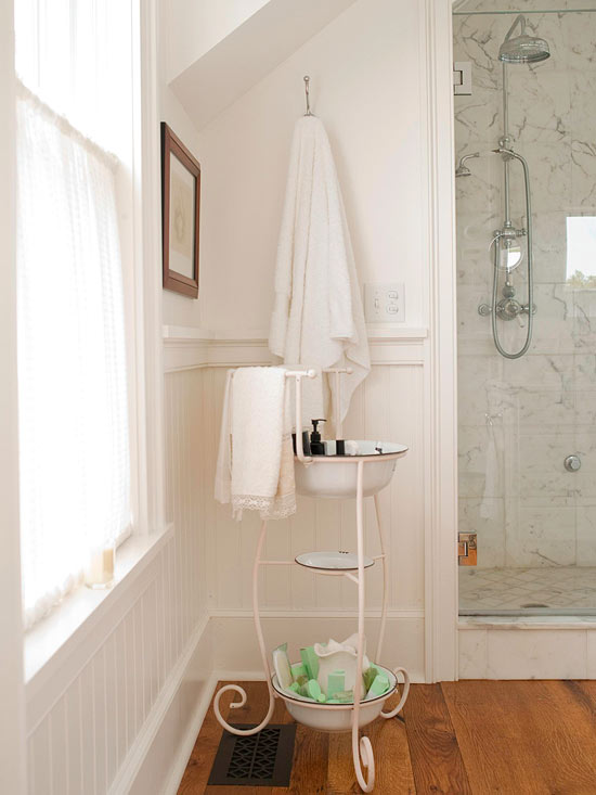 Lastest Clever Ways To Add Storage To A Small Bathroom  Apartment Therapy
