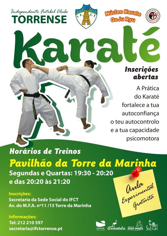 Aulas de Karate e defesa Pessoa IFCTl