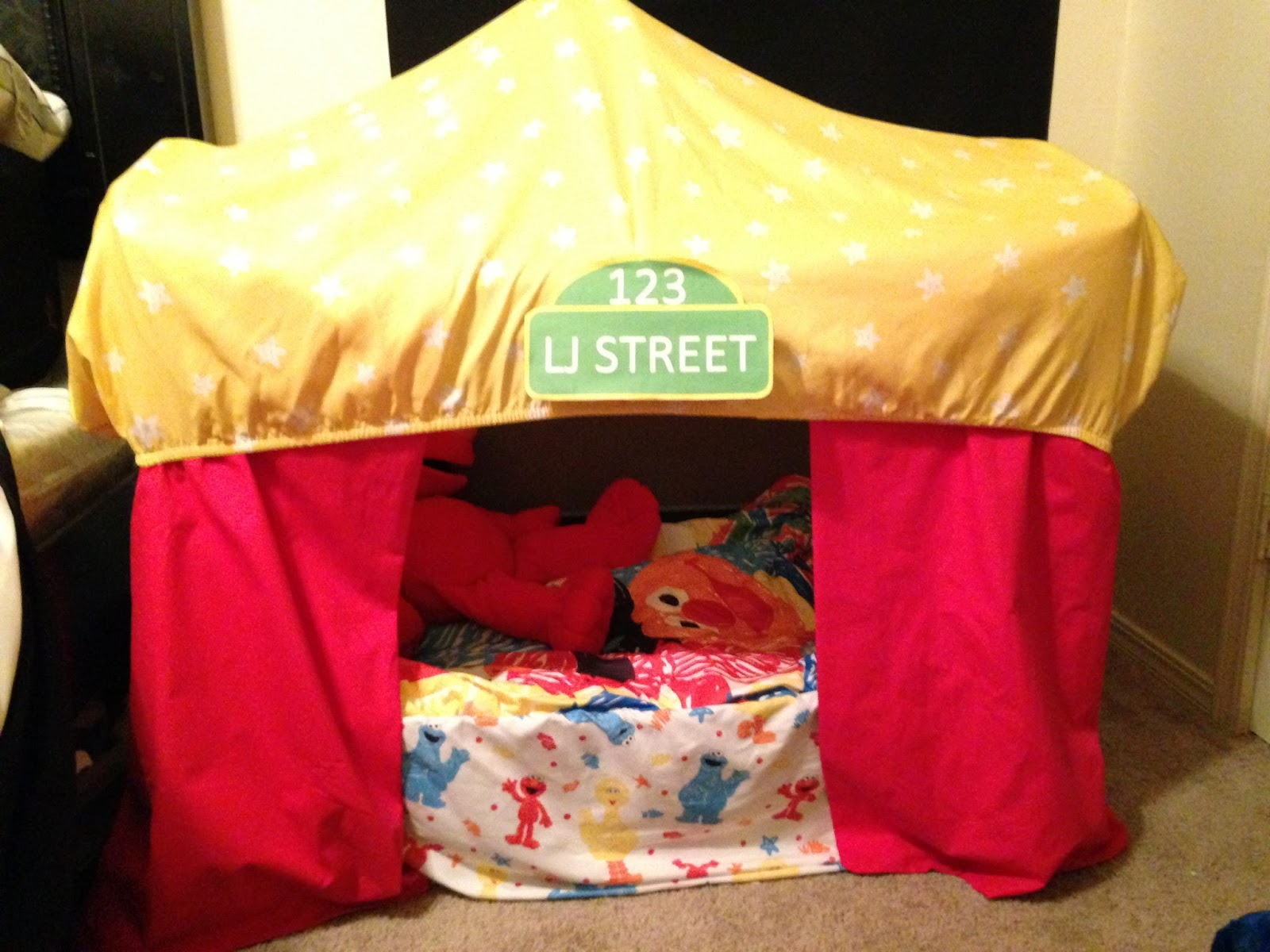 DIY Sesame Street Pack N Play Toddler Bed : pack and play tent - memphite.com