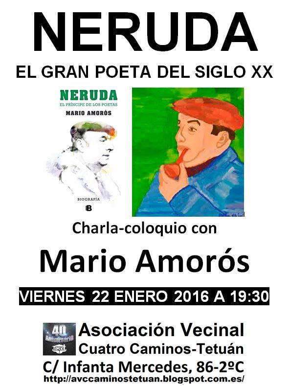 22 enero Neruda en Tetuán