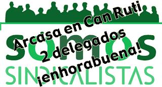 Los trabajadores de Arcasa en Can Ruti confian en SOMOS sindicalistas