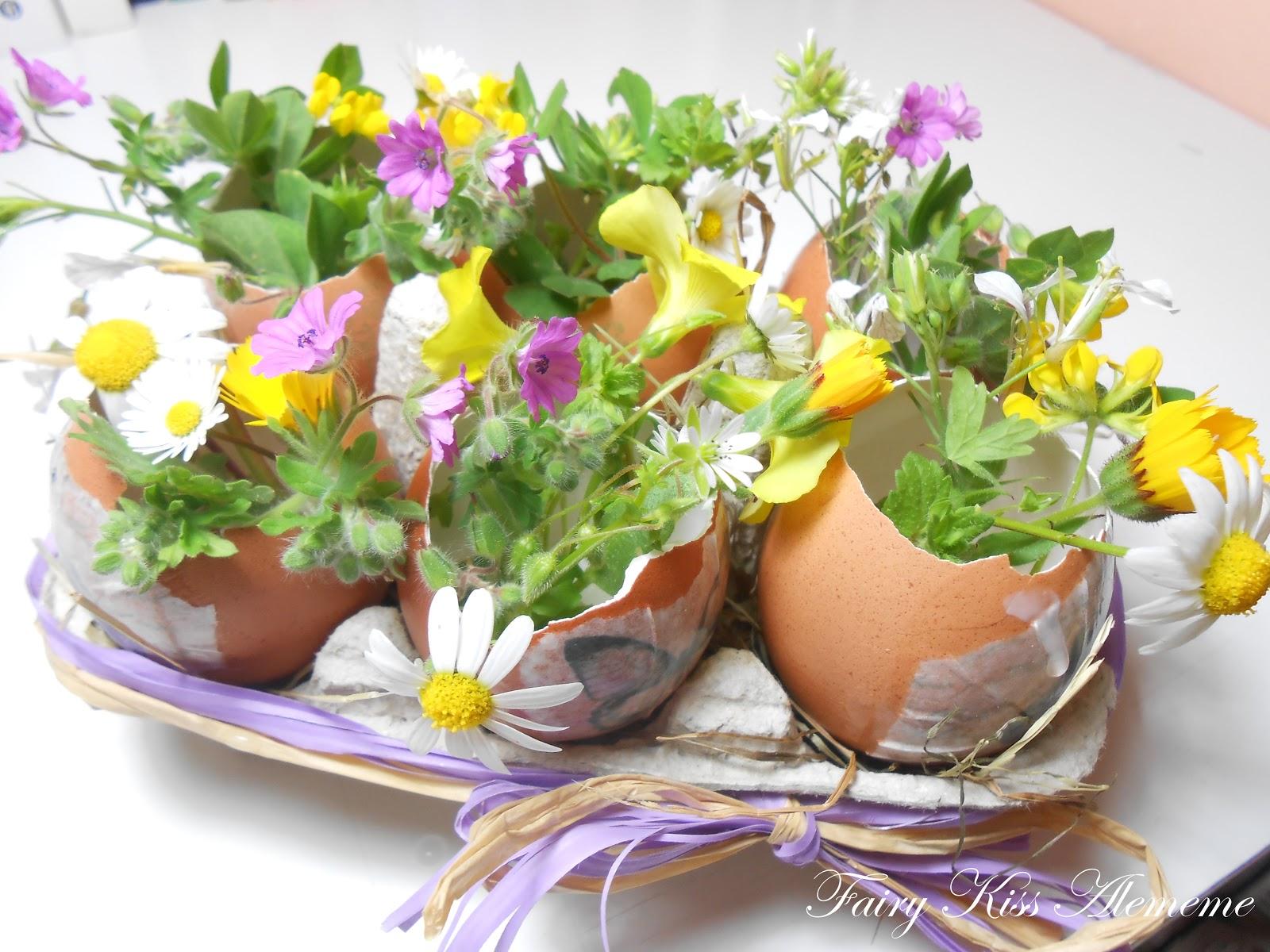 Fairy kiss idee per decorare la nostra casa a pasqua - Uova di pasqua in casa ...