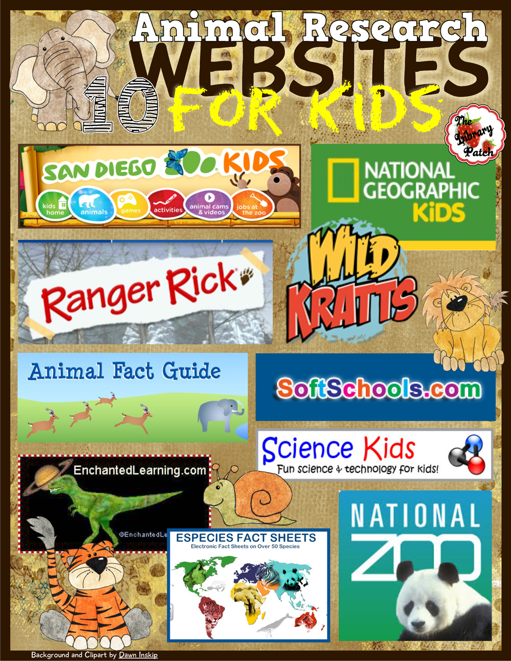http://www.teacherspayteachers.com/FreeDownload/Animal-Research-Websites-for-Kids-1641256