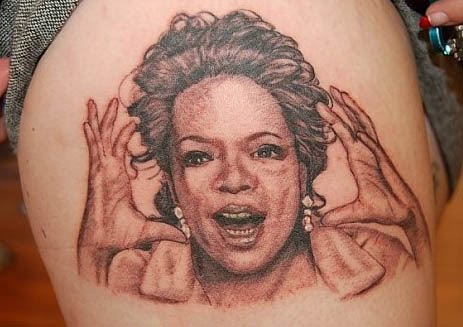 Oprah Tattoo