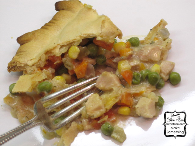 Cathie Filian: Easy Chicken Pot Pie with Leftovers
