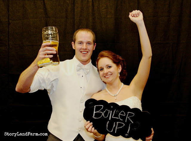 Purdue Pride Wedding Photos