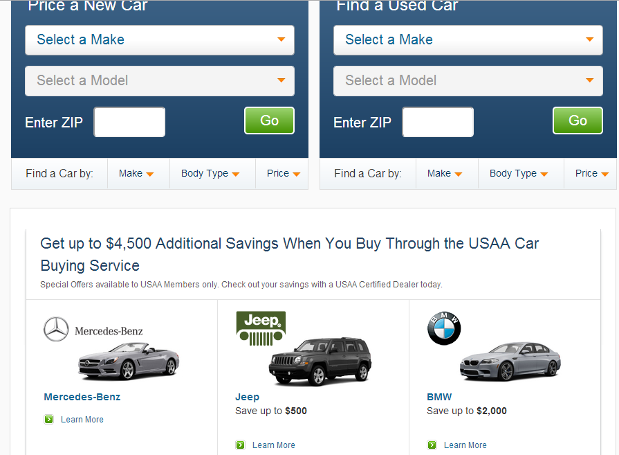 Usaa Car Buying Service Authorized Dealers