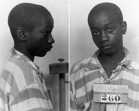George Stinney, Jr., 14, shortly before his execution in the electric chair in 1944.  Exonerated in December  2014.