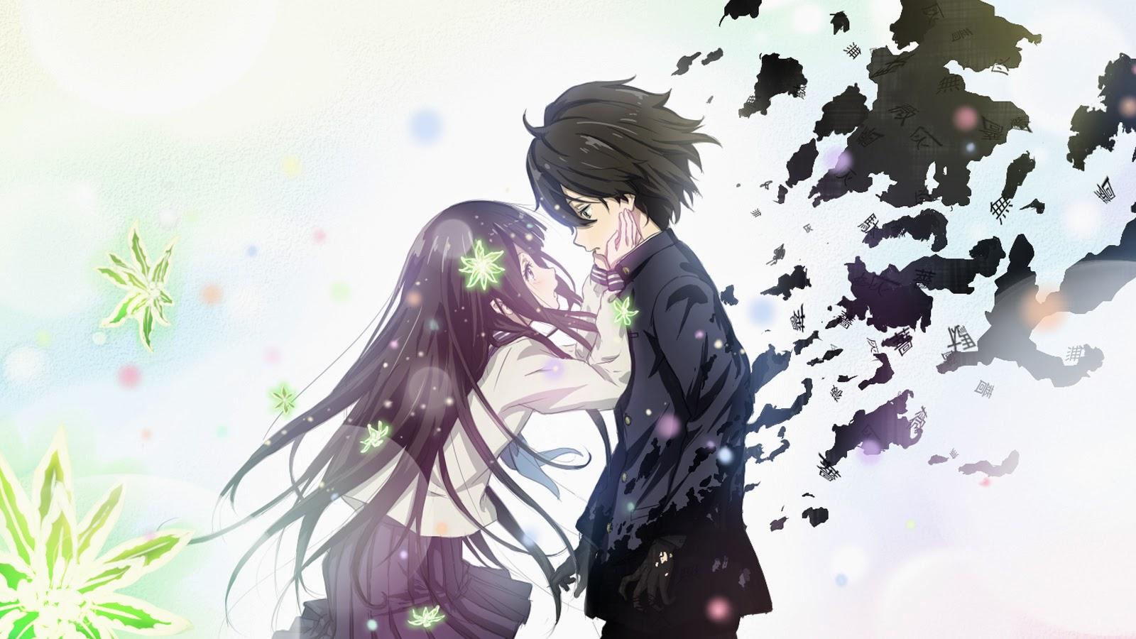 Gambar Kartun Anime Paling Romantis  Bestkartun
