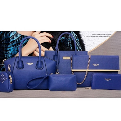 MULTI FUNCTION BAG (6 IN 1 SET) – BLUE