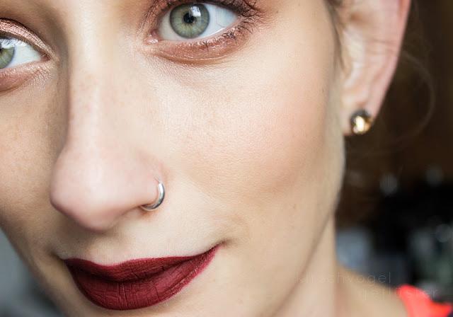 jeffree star liquid lipstick unicorn blood makeup geek grandstand FOTD