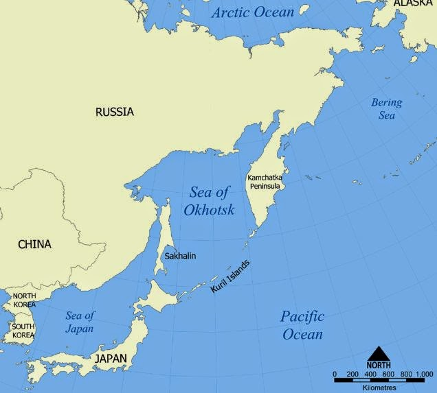 sea of okhotsk essay Usgs earthquake hazards program, responsible for monitoring, reporting, and researching earthquakes and earthquake hazards.