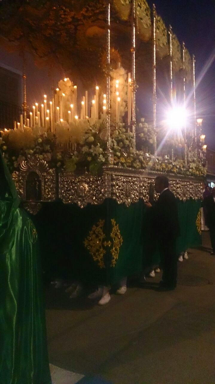Relatos de una semana: Miercoles Santo - Esperanza de Calzada
