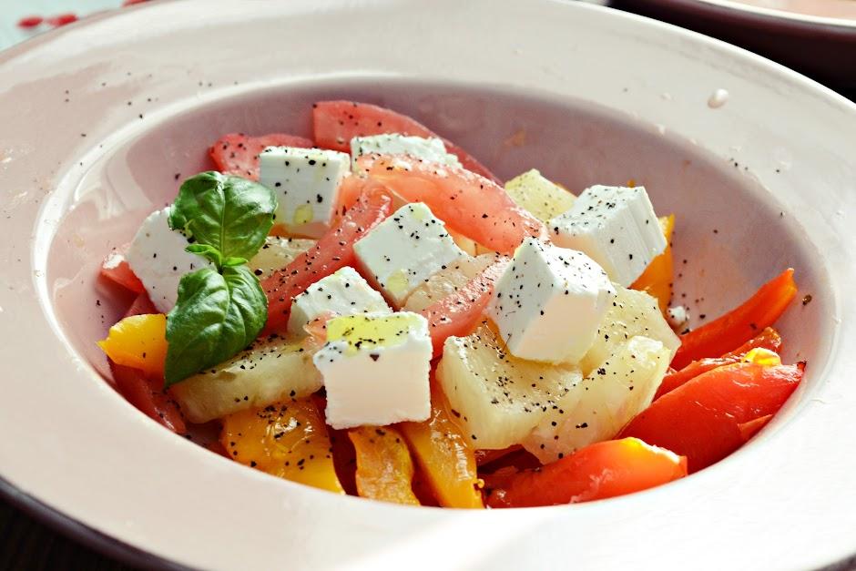 Салат с авокадо фото-рецепты пекельна кухня