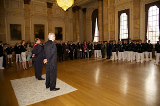 The Great Hall presentation with the Brazilian Navy