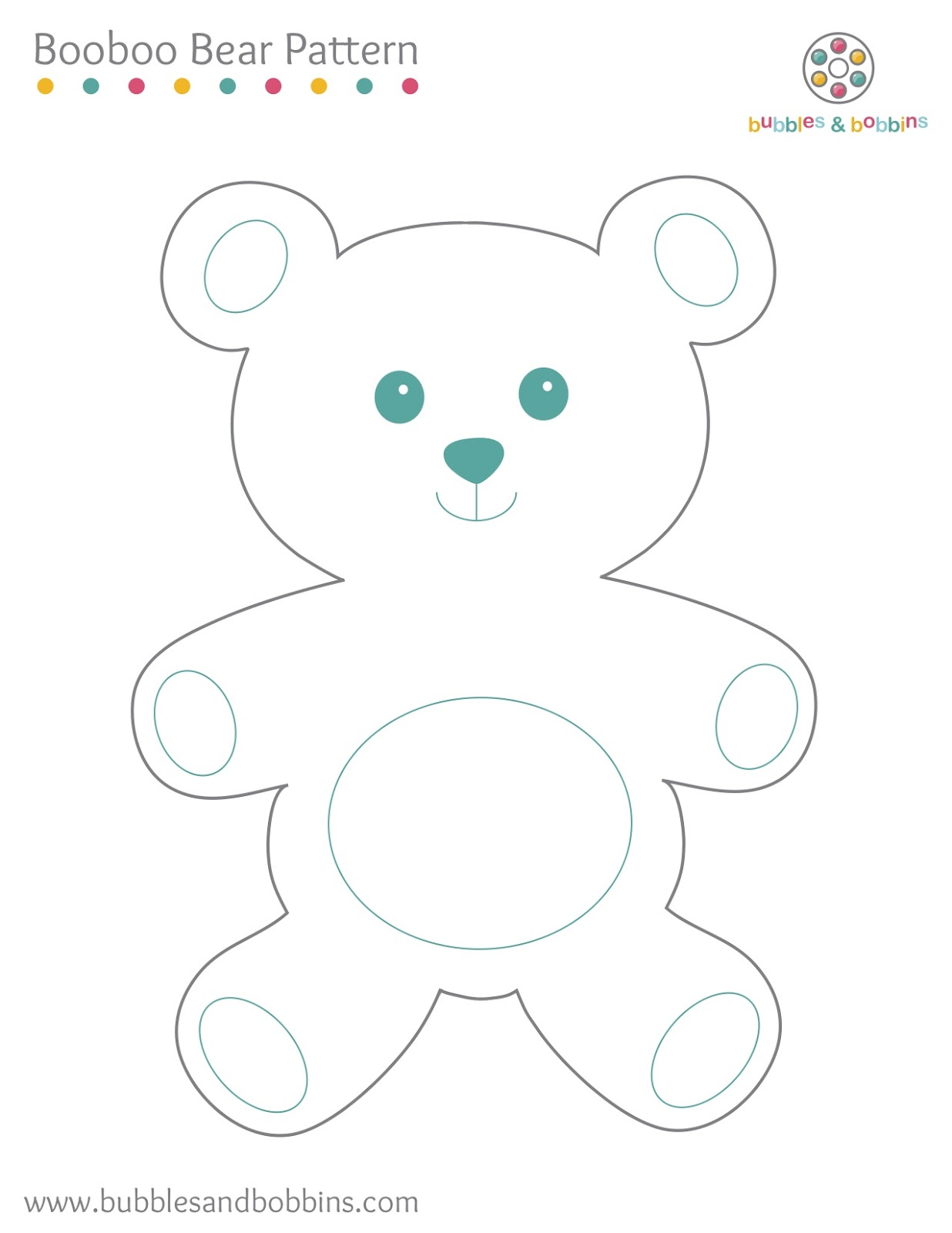 Teddy Bear Sewing Patterns Printable
