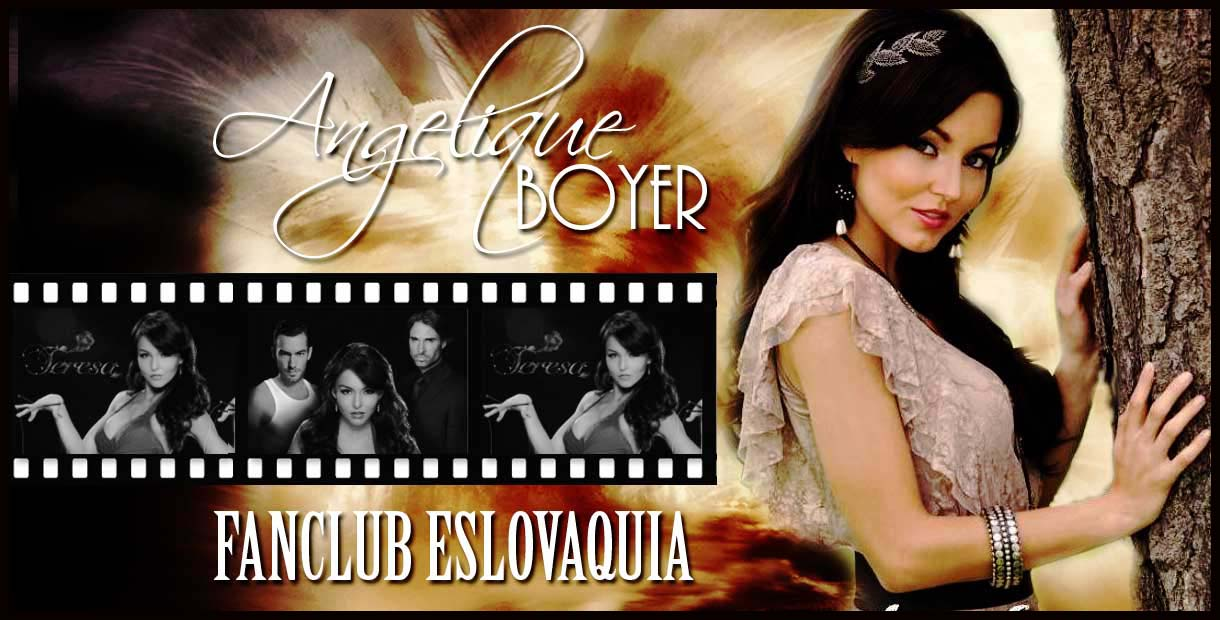 Angelique Boyer - Fanclub Eslovaquía