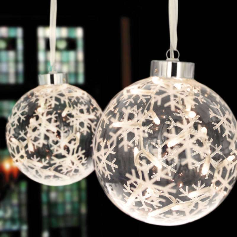 Led Rope Light Tinsel Bauble: Monarch Interiors