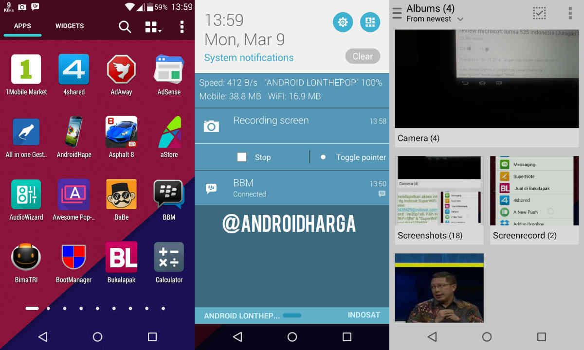 Cara Screen Record & Screen Video di Android Zenfone