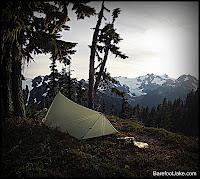 Hoh Glacier camp