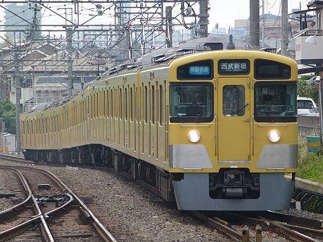 西武新宿線 拝島快速 西武新宿行き2 新2000系
