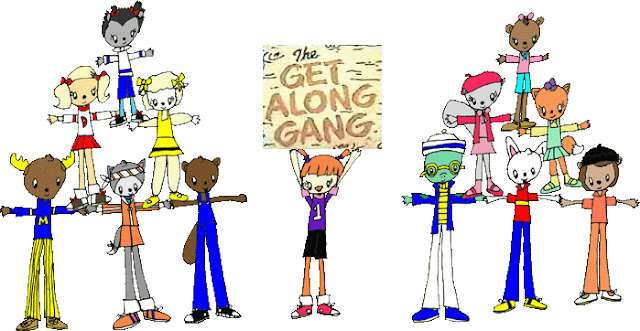 Get Along Gang Central Banner por FluidGirl82