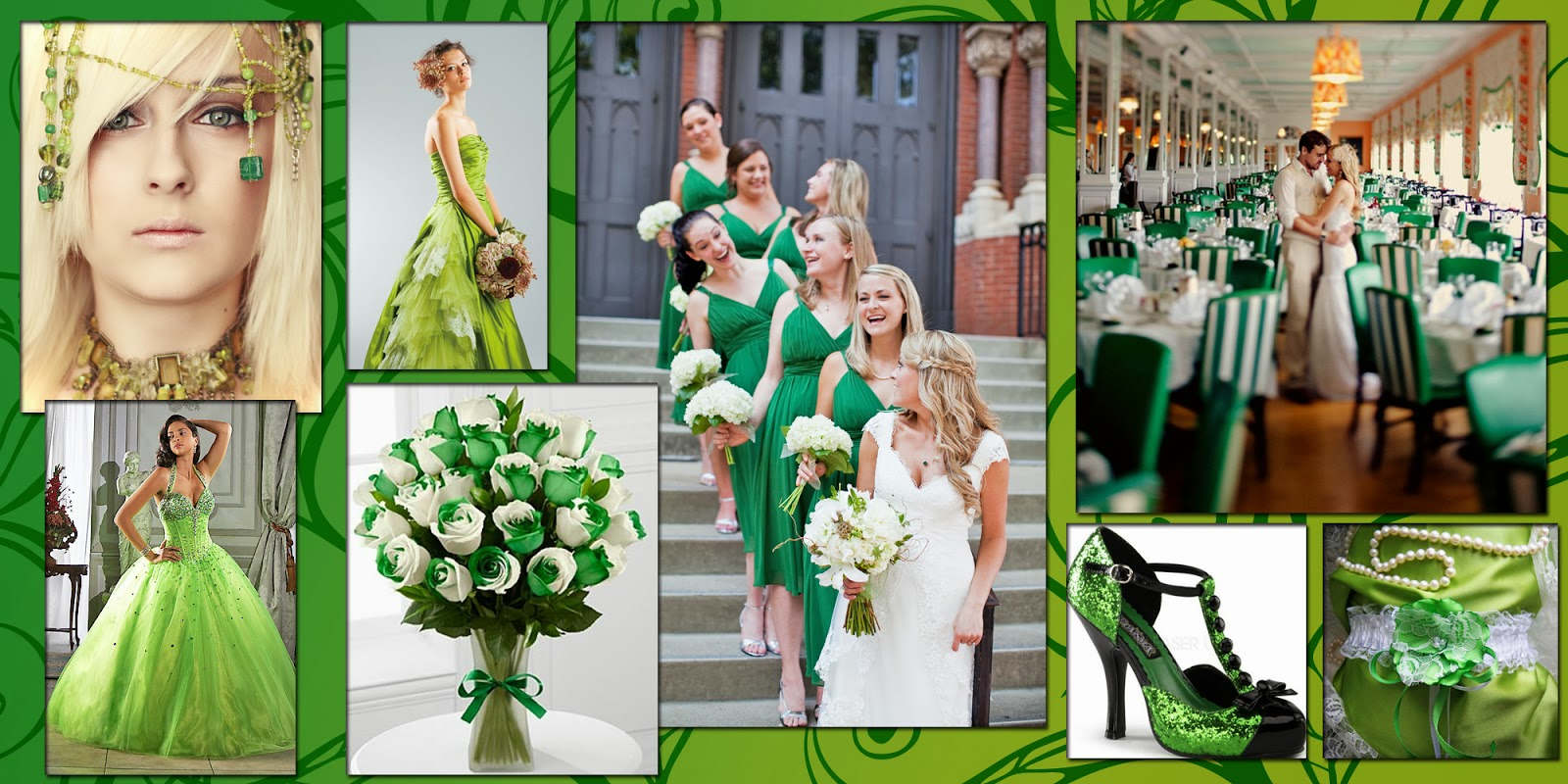 Свадьба в одном цвете