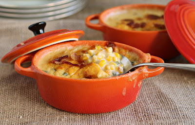 Cheesy Bacon Corn Casserole