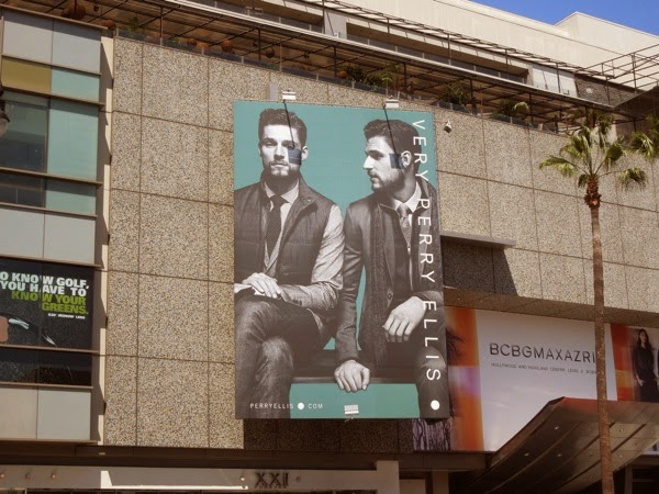 Very Perry Ellis FW 2014 billboard