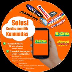 TELPON GRATIS DENGAN KARTU INDOSAT OOREDOO 4G BERSAMA B-ONE COMMUNITY