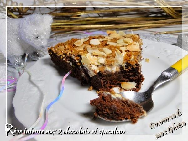 Gâteau sans gluten chocolat noir et blanc