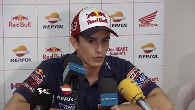 Tak Mau Kalah, Ini Jawaban Marquez Tentang Insiden Dirinya Dengan Rossi